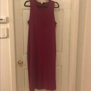 Banana Republic Side Slit Dress